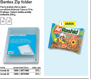 Bantex Zip Folder