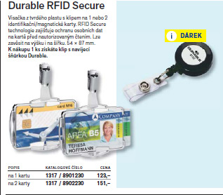 Durable RFID Secure