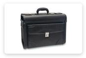 Kožené tašky, kufry