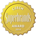 Czech Superbrands Award 2014