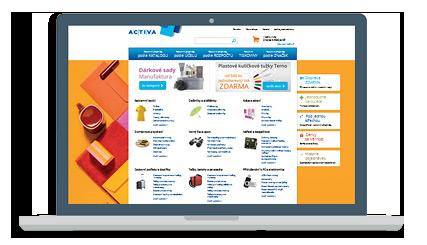 Notebook Activa Reklamní předměty